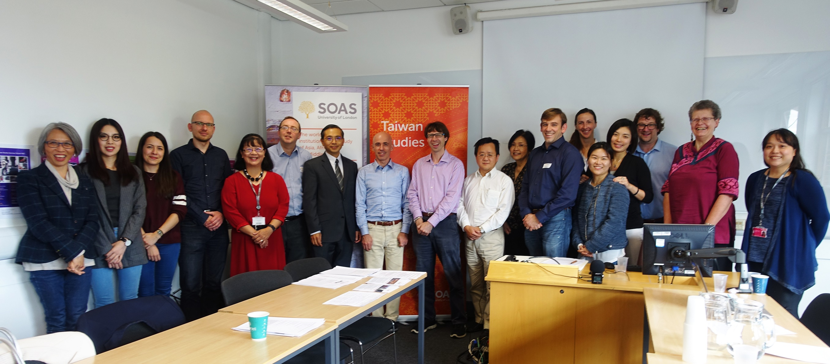 Participants from the world's leading Taiwan Studies programmes in Europe and North America